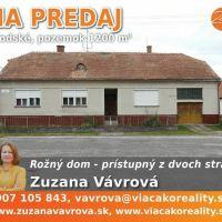 Rodinný dom, Brodské, 1 m², Pôvodný stav