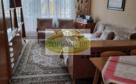 Top ponuka - Veľký tehlový  3 izbový byt, 73 m2, s lodžiou, balkónom a garážou  B. Bystrica, centrum  - cena 185 000€