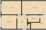 PREDAJ: Trojizbový byt, 75m2, Podbrezová - Štiavnička
