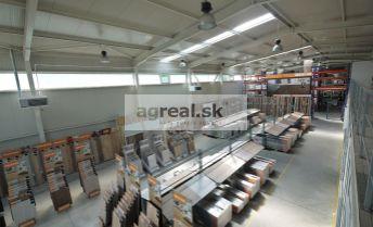 Predajný sklad - showroom 530 m2 v montovanej hale s parkingom, Dvojkrížna ulica, možnosť kancelárií a paletových miest