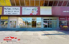 Na prenájom obchodné priestory s rozlohou 141,45 m2, Trenčín Centrum, ul. Hviezdoslavova