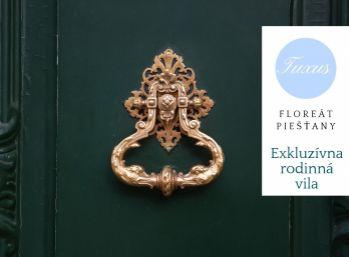 Exkluzívna rodinná vila,380 m2, pozemok 830 m2,Piešťany,Floreát