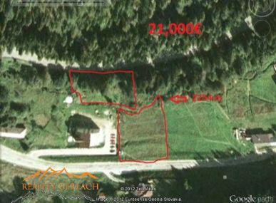 Stavebné  pozemky  v rekreačnej oblastí Hnilčík