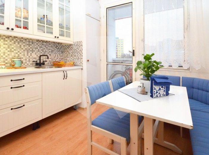 PREDANÉ - TUPOLEVOVA, 4-i byt, 87 m2 – čiastočne zrekonštruovaný byt s LOGGIOU, v zateplenom 8-posch. dome s novou fasádou, VÝBORNÁ DISPOZÍCIA