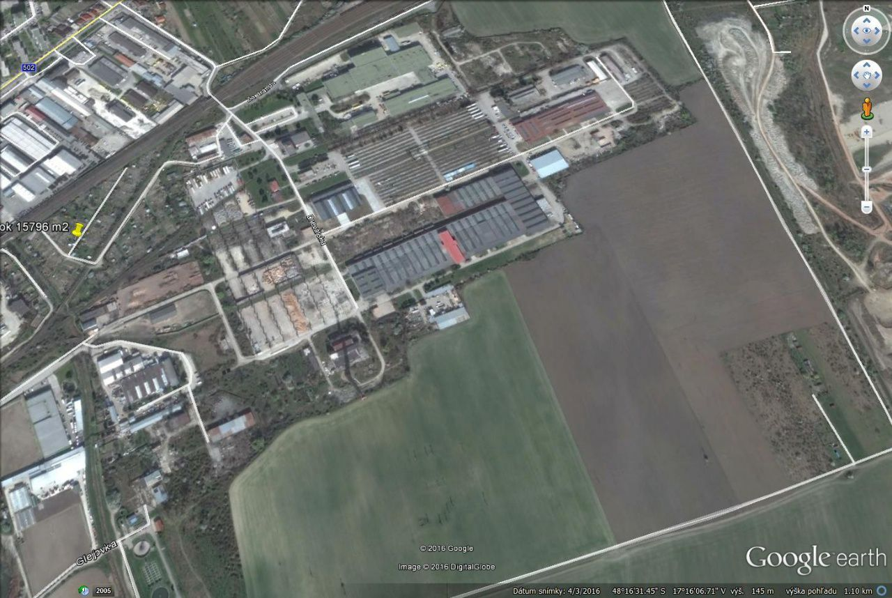 ARETÉ REAL - PREDAJ 1565 m2 STAVEBNÉHO POZEMKU V PRIEMYSELNEJ ZÓNE V PEZINKU, DREVÁRSKA