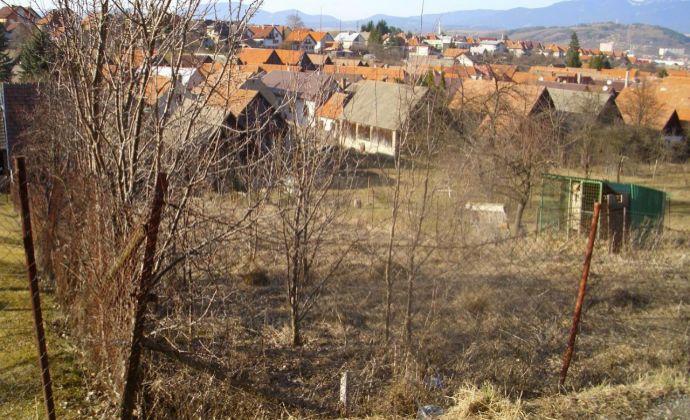 Stavebný pozemok v liptovskej obci pod Poludnicou