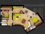 4 izbový byt Luxusné bývanie Belveder Banská Bystrica