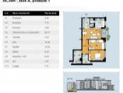 3-izbový byt centrum Zvolen