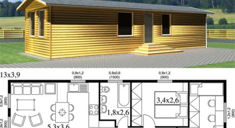 RK MAXXIMA ponúka na predaj  Modulárny dom Basic