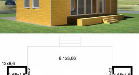 RK MAXXIMA ponúka na predaj  Modulárny dom C3