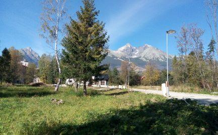 LUKRATÍVNE STAVEBNÉ POZEMKY,  CENTRUM, Tatranská Lomnica