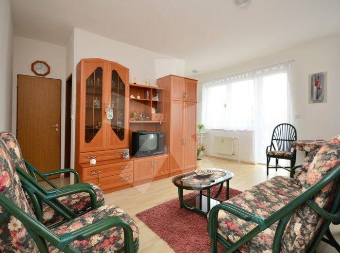 PREDANÉ - BALTSKÁ, 1-i byt, 36 m2 – príjemné bývanie v tehlovej NOVOSTAVBE, spací kút, balkón, NÍZKE NÁKLADY NA BÝVANIE
