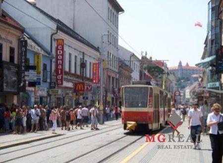 Prenájom obchodný priestor - Obchodná ulica, Staré mesto
