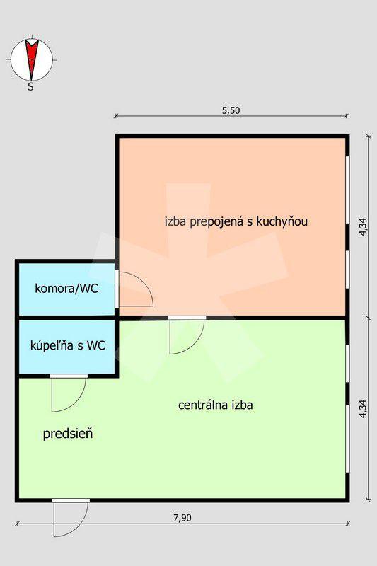 ponukabyvania.sk_Pribišova_2-izbový-byt_archív