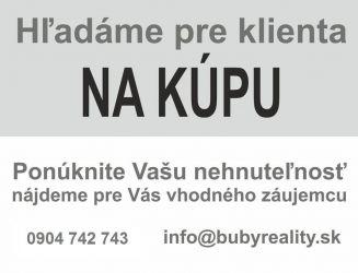 Kúpim novostavbu domu na samote v okolí Žiliny