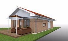 ASTER Výstavba: 3-izb. murovaný rodinný dom, 97m2