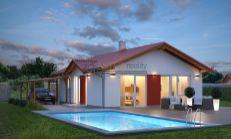 ASTER Výstavba: 3-izb. murovaný rodinný dom, 89m2