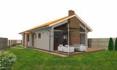 ASTER Výstavba: 4-izb. murovaný rodinný dom, 111m2