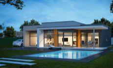 ASTER Výstavba: 4-izb. murovaný rodinný dom, 182,2m2