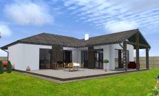 ASTER Výstavba: 4-izb. murovaný rodinný dom, 143m2