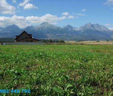Stavebný pozemok - 989m2, Veľký Slavkov, Vysoké Tatry
