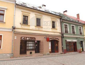 MAXREAL - Polyfunkčný objekt - meštiansky dom v centre mesta – predaj
