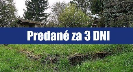 PREDANÉ ZA 3 DNI: Pozemok 939 m2, Stupava, predaj pozemku s krásnym výhľadom