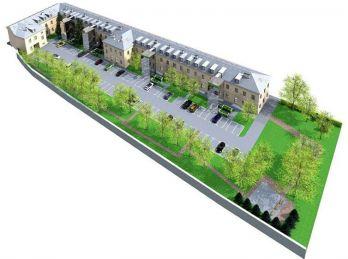 Podnikanie v centre mesta - 5 miestností s kúpelňou a WC, s parkovaním - Baštová- NOVOSTAVBA !!!