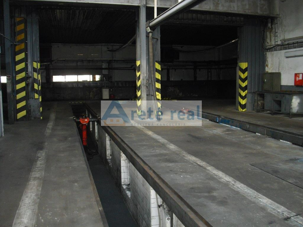 Areté real, Prenájom výrobných priestorov v priemyselnej časti v Pezinku