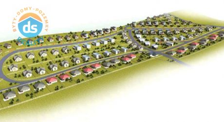 Na predaj stavebný pozemok (voľný) C3 - 745 m2, Južné Terasy, Gbeľany, okr. Žilina