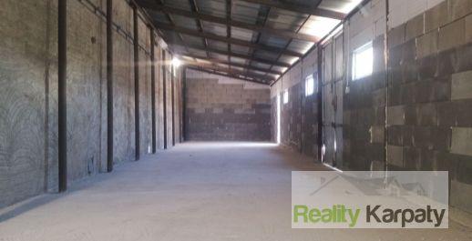 Na prenájom výrobno-skladové priestory 100m2 + 100m2, administratíva, lokalita ZOHOR