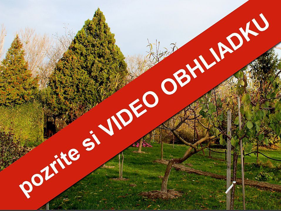 PREDANÉ ZA 3 MESIACE: Krásna záhrada priamo na brehu Malého Dunaja