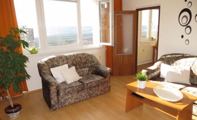Best Real - byt s krásnym výhľadom, 3 nepriechodné izby, 75m2, 5/7 posch., zariadený