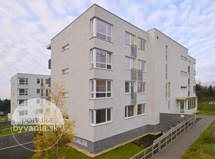 PREDANÉ - DROTÁRSKA CESTA, 3-i byt, 102 m2 – priestranný byt s modernou dispozíciou, novostavba MACHNÁČ, lukratívna lokalita pri HORSKOM PARKU