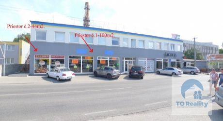 Na prenájom obchodný priestor v Topoľčanoch