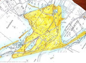 Pozemok v časti Stráne - priem. zóna, 466000m2