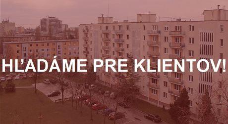 Hľadáme pre našho klienta 1-izbový byt v Bratislave I - III. Platba v hotovosti!