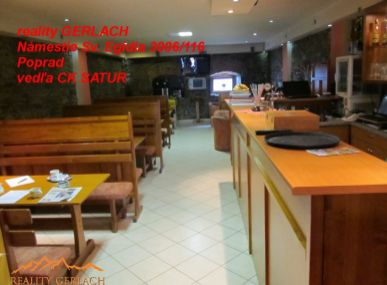 Predáme kaviareň s ubytovaním v Poprade- Veľkej.