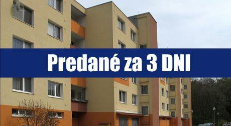 PREDANÉ ZA 3 DNI: 3 izbový byt v najlukratívnejšej časti Petržalky?