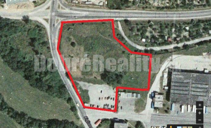 Stavebný pozemok 13.000 m2 pri Merkury Markete v Prievidzi