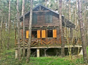 Reality Štefanec /ID-9884/ Plavecký Štvrtok, 3 izb. chata pri jazere Pieskovňa na predaj, cena: 77.000,-€