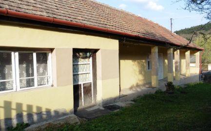 GEMINIBROKER ponúka na predaj rodinný dom v tichom prostredí v obci Fony