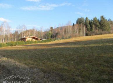 Pozemok  v rekreačnej oblastí Záhajnica