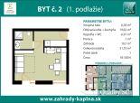 PREDANÉ - NA PREDAJ NOVOSTAVBA - 1 izbový byt s predzáhradkou, s nadštandardom, s ultranízkymi nákladmi na bývanie a s parkovaním - nový exkluzívny komplex ZÁHRADY KAPLNA / SENEC