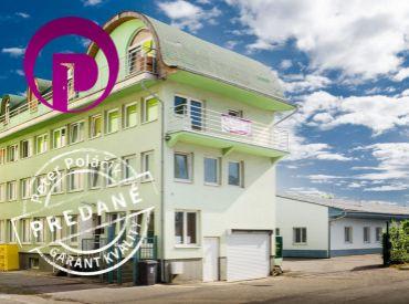 PREDANÉ - STARÁ VAJNORSKÁ, polyfunkčná budova, 787 m2 - 5 PODLAŽÍ,  PODNIKAJTE A BÝVAJTE POD JEDNOU STRECHOU