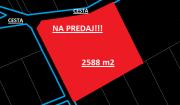 Ponúkame Vám na predaj pozemok 2588 m2 - Horné Srnie