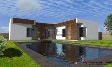 ASTER Výstavba: 4-izb. murovaný rodinný dom, 146m2