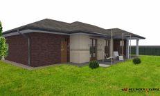 ASTER Výstavba: 3-izb. murovaný rodinný dom - bezbariérový, 147m2