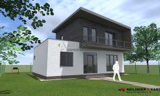 ASTER Výstavba: 4-izb. murovaný rodinný dom, 109m2