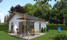 ASTER Výstavba: 3-izb. murovaný rodinný dom, 93,5m2